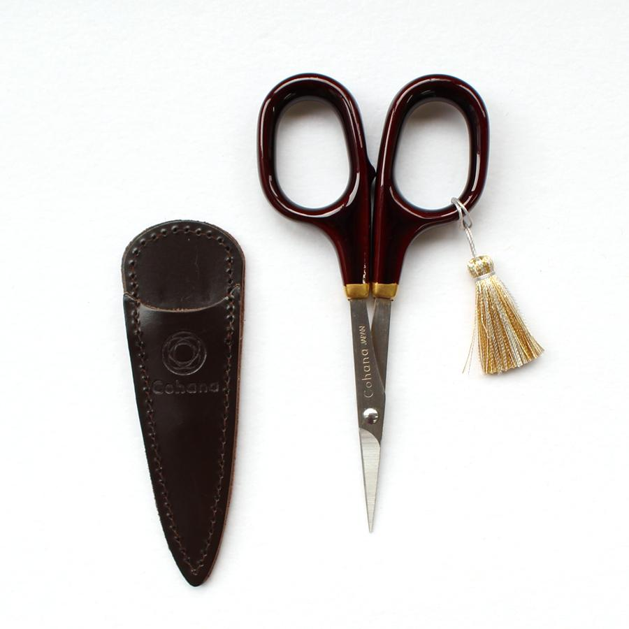 Fine Scissors with Gold Lacquer