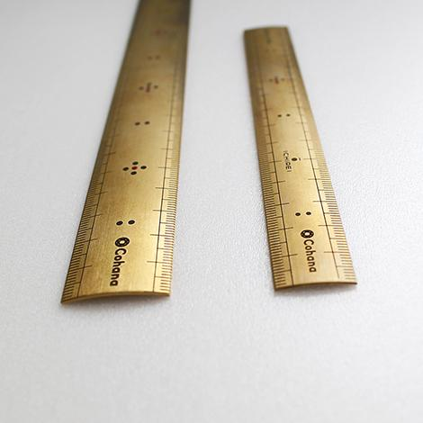 Brass Scale Ruler
