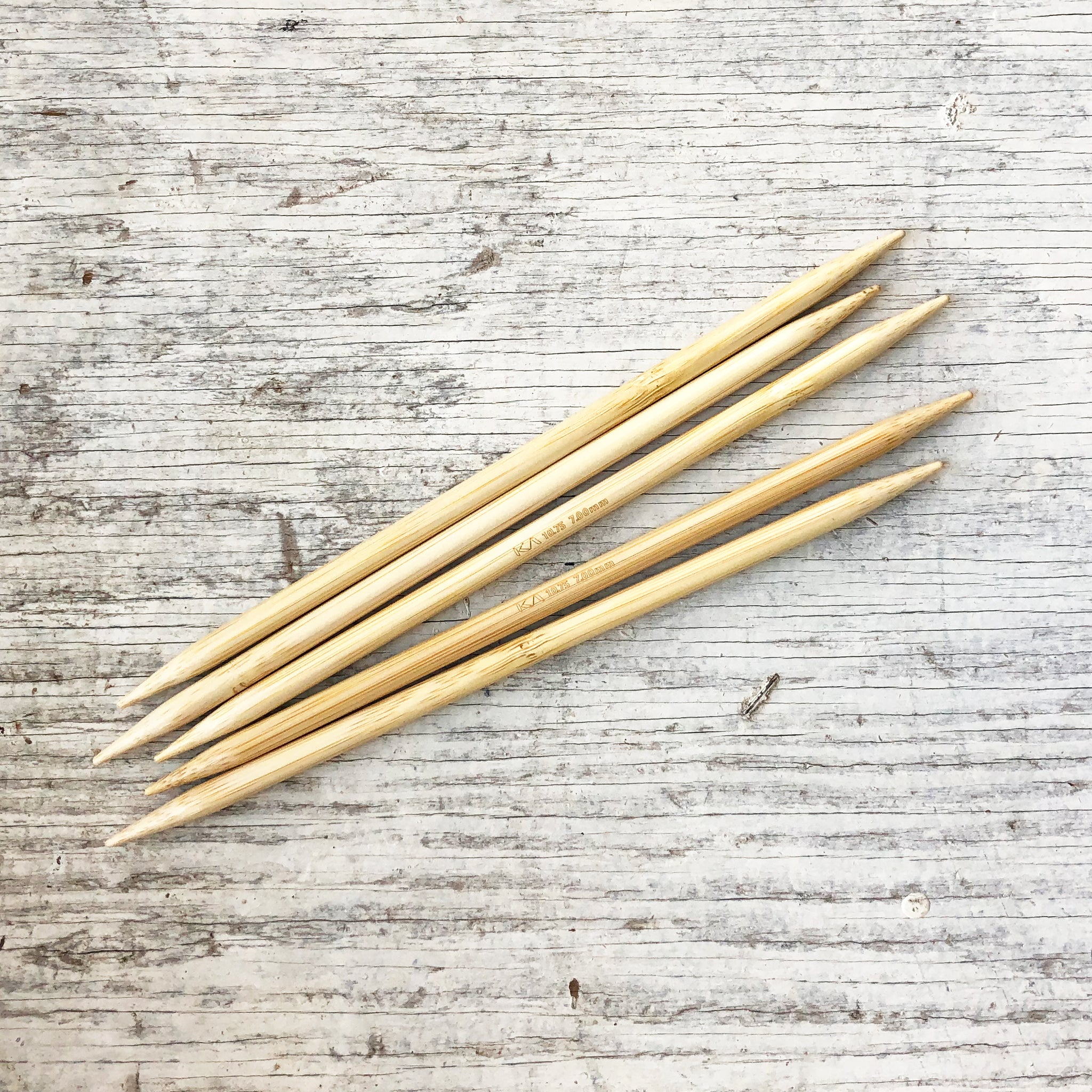 Shirotake Double Pointed Needles 20 cm (8 inch) Set of 5