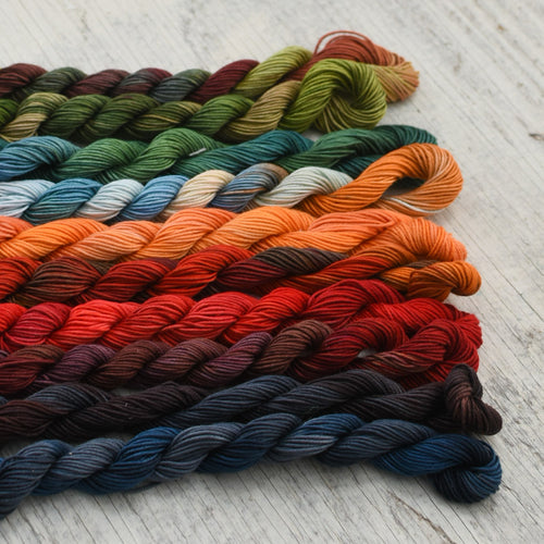 Variegated Cotton Twist Thread