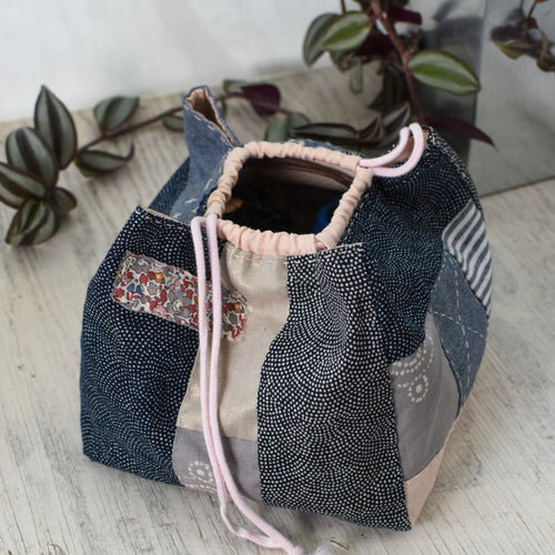 Fabric Pack for Modern Japanese Rice Pouch