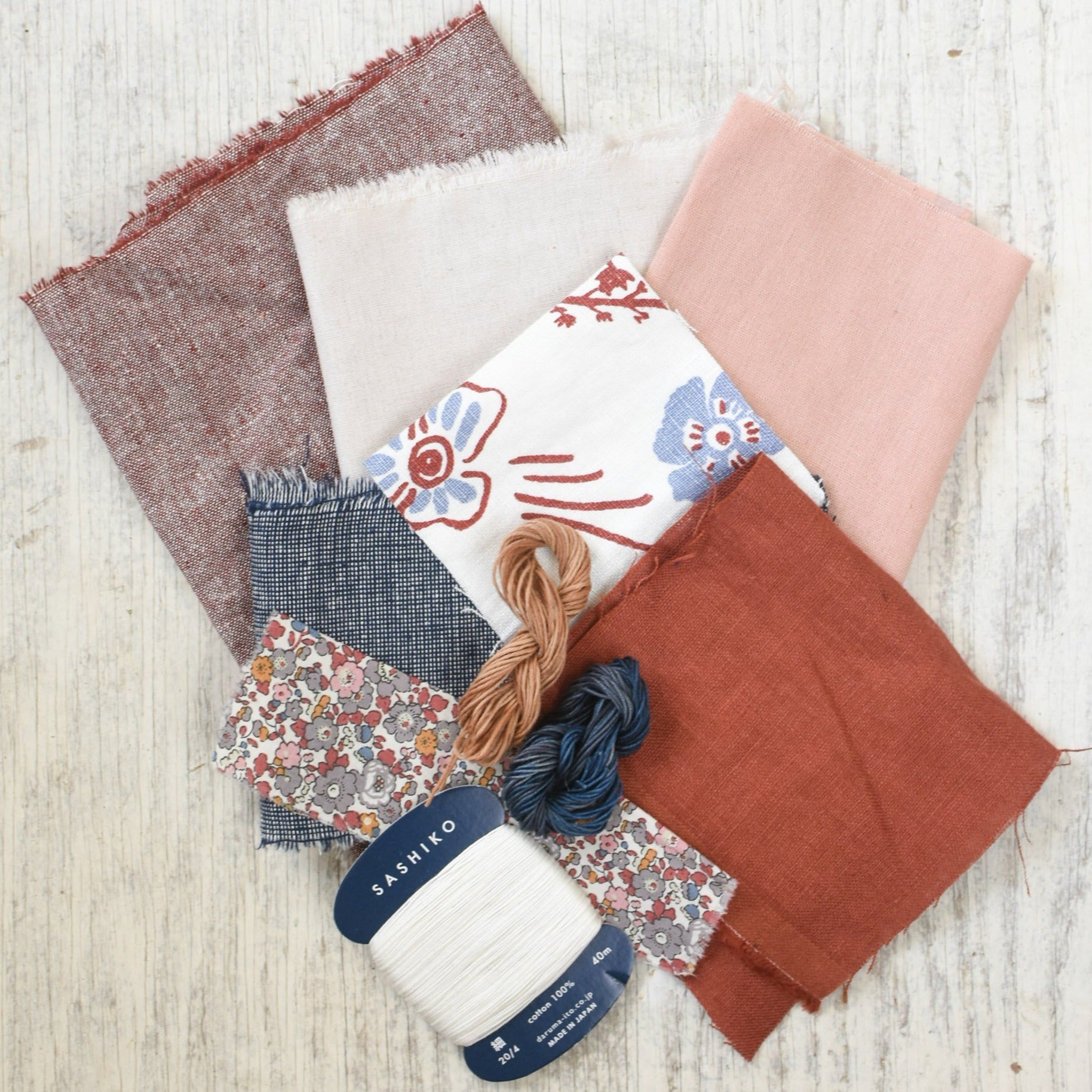 Fabric + Thread Bundles