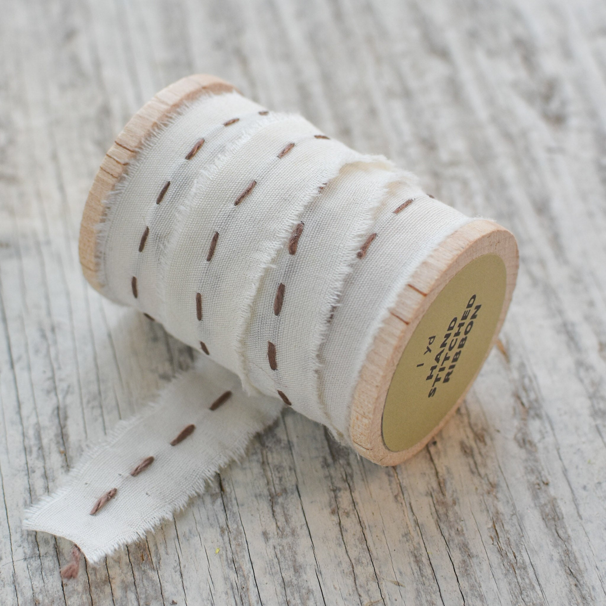 Hand Stitched Ribbon