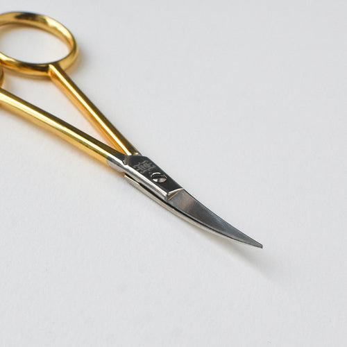 Curved Gold Embroidery Scissors