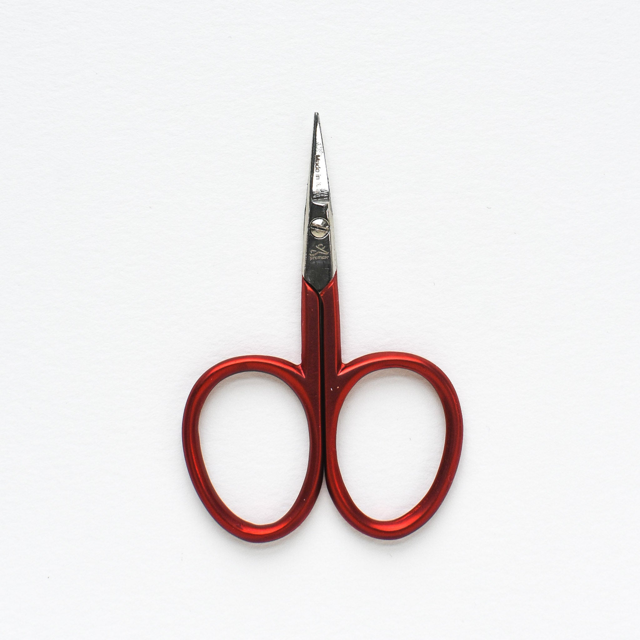Tiny Red Embroidery Scissors