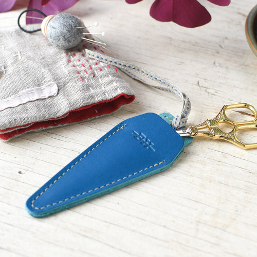 Scissors Sheath, Cobalt blue