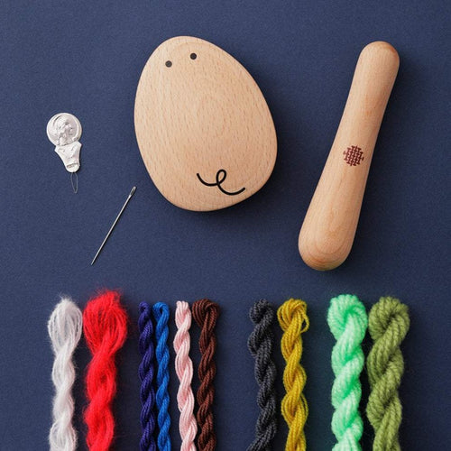 Adorable Mouse & Stick Darning Kit
