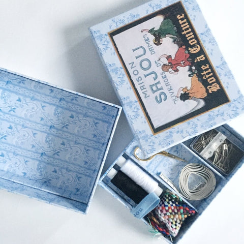 Cross Stitch Kit -- Eiffel Case