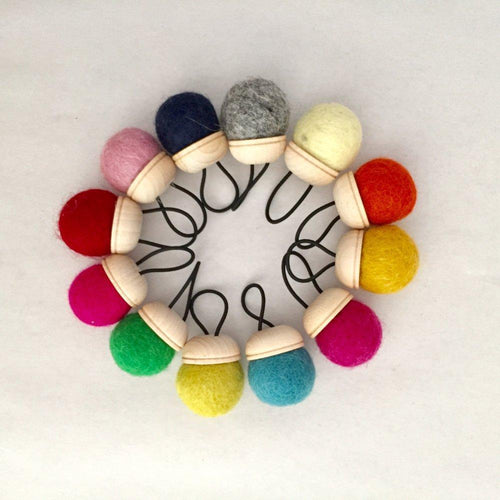 Wool Pin Cushion Ring