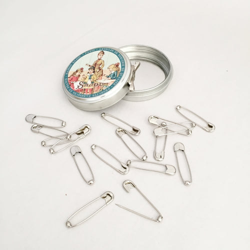 Ball Spring Safety Pins