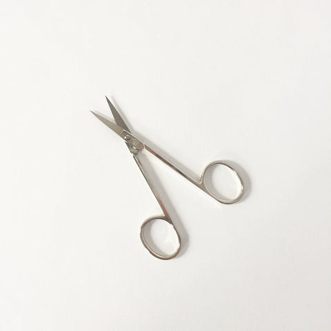 Scissors with Gold Lacquer, Creamy Gold