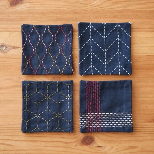 Sashiko Coaster Sets