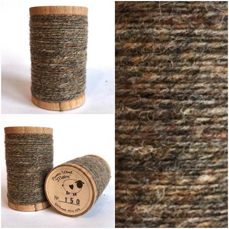 Moire Rustic Wool Thread