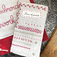 Embroidery Sampler Book Kits