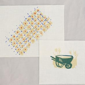 Patches: Patchwork + Wheelbarrow