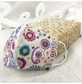 Floral Pouches Embroidery Kit