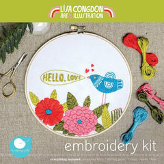 Lisa Congdon Embroidery Kits