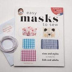 Easy Masks to Sew by Boutique-sha