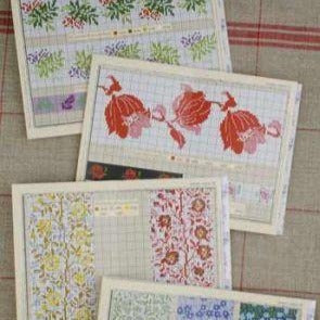 Cross Stitch Patterns, Red Series