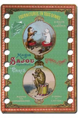 Sewing Kit in Sajou Box