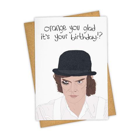 A CLOCKWORK ORANGE CARD