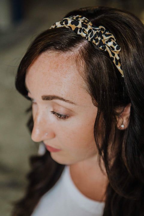 CHEETAH HEADBAND