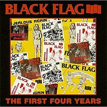 Black Flag - First Four Years / Singles