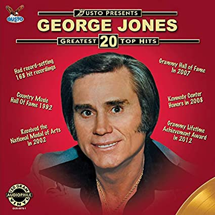 JONES, GEORGE - GREATEST 20 TOP HITS