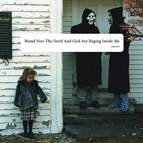 BRAND NEW - THE DEVIL + GOD ARE RAGING INSIDE ME
