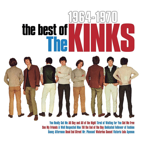 KINKS, THE - BEST OF 64-70