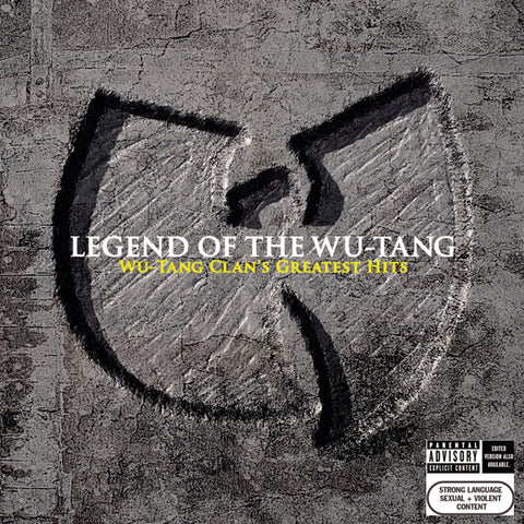 WU-TANG - LEGEND OF THE WU-TANG: GREATEST HITS