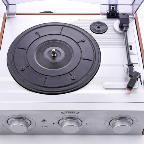 Jensen JTA-220 3-Speed Turntable (AM/FM Receiver)