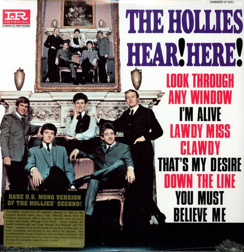 HOLLIES, THE - HEAR! HEAR!
