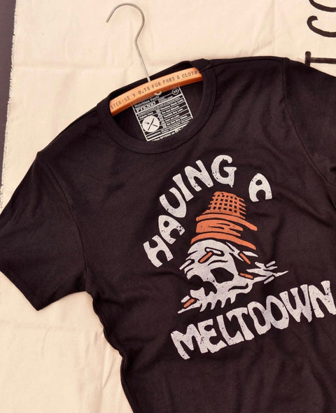 PYKNIC - HAVING A MELTDOWN TEE