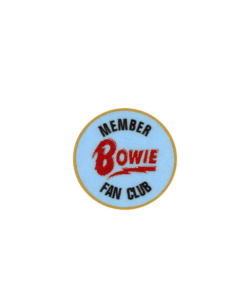 BOWIE FAN CLUB PATCH