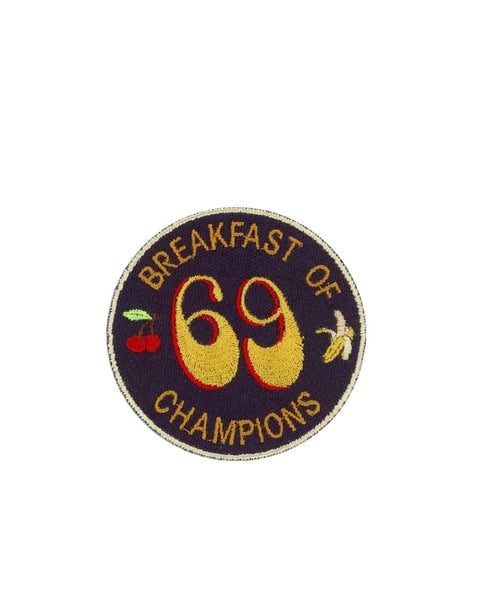 BREAKFAST OF CHAMPIONS 69 PATCH
