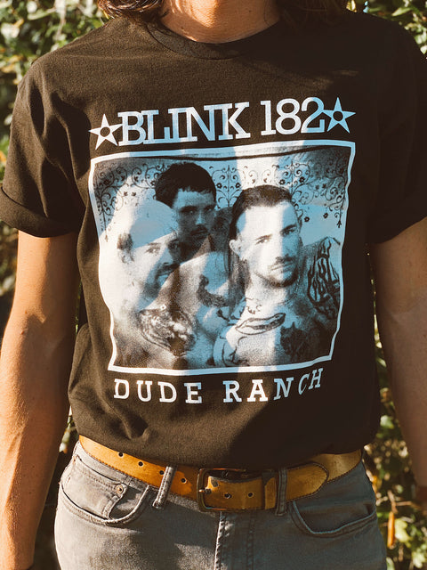 BLINK 182 X TIGER KING TEE