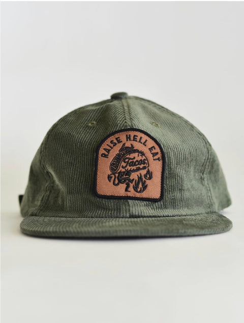 RAISE HELL EAT TACOS HAT