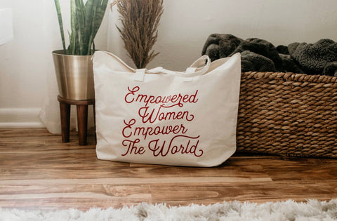EMPOWERED WOMEN TOTE