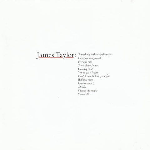 TAYLOR, JAMES - BEST OF