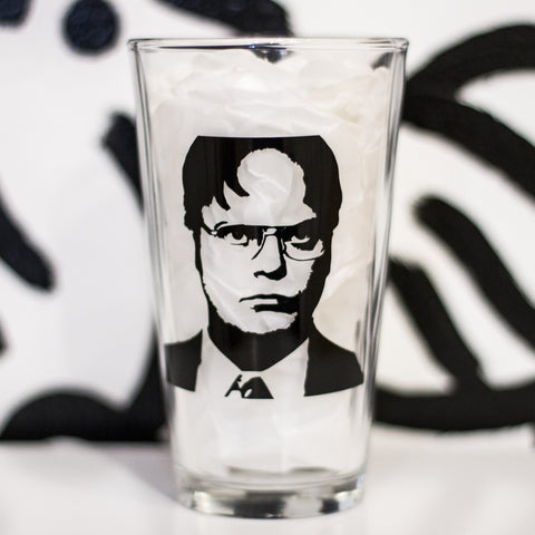 BEARS. BEETS. BATTLESTAR GALACTICA. PINT GLASS
