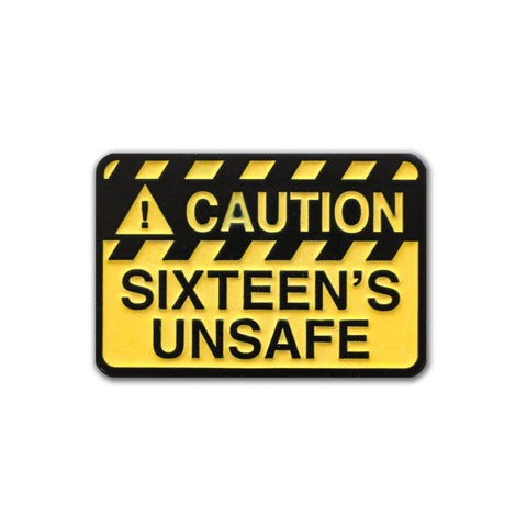 Blink 182 SIXTEEN'S UNSAFE Pin