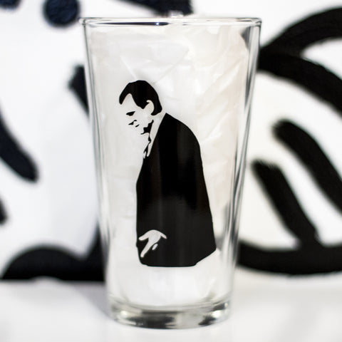 DWIGHT YOU IGNORANT SLUT PINT GLASS