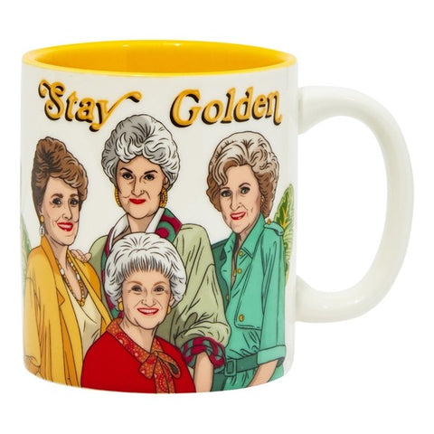 STAY GOLDEN GALS MUG