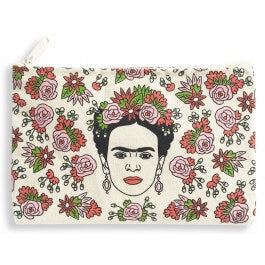 FRIDA FLORAL POUCH