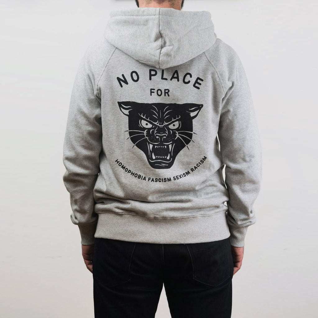 No Place Zip-Up Hoodie