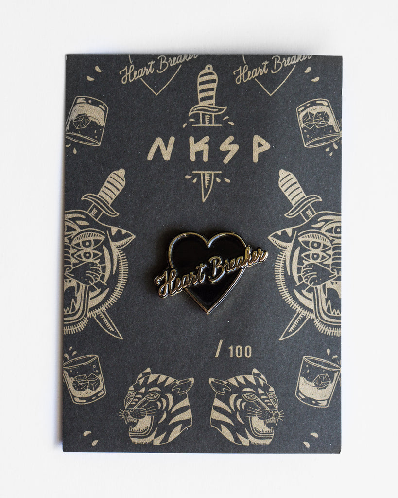 Heart Breaker Pin