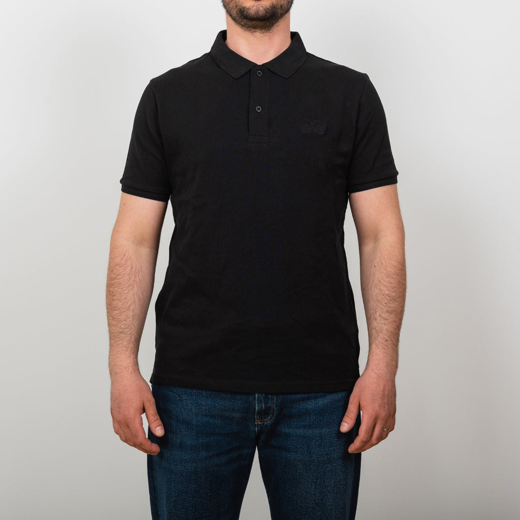 Embroidered Skulls Polo