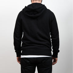 No Place For Intolerance Zip-Up Hoodie Black