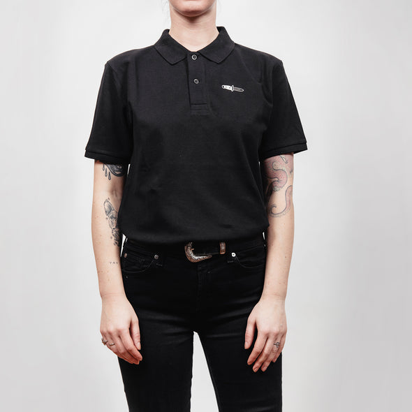 Embroidered Knife Polo